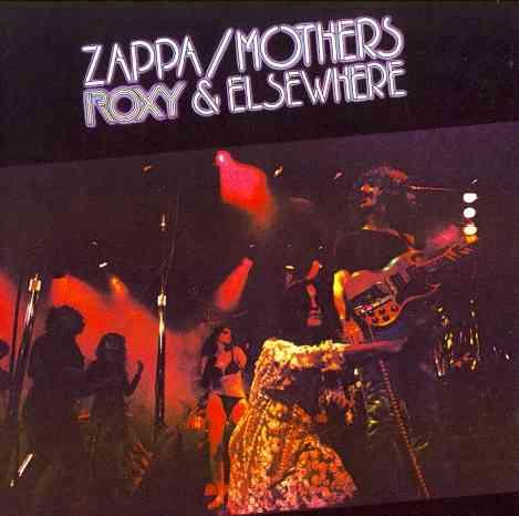 ROXY & ELSEWHERE BY ZAPPA,FRANK (CD)